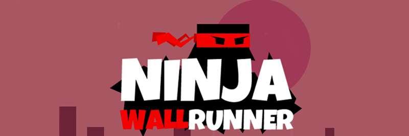 Ninja sticks to the wall