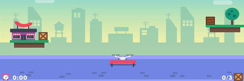 Drone pickup