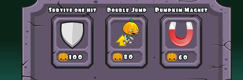 Pumpkin man sprint