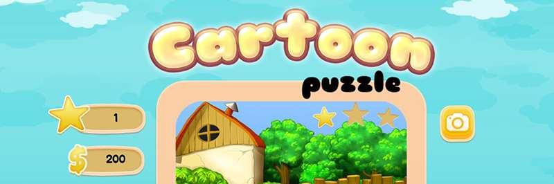 Cartoon world puzzle