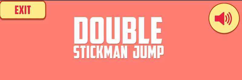 Double stickman jumping