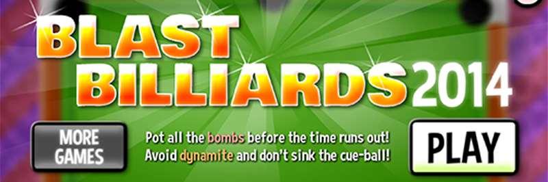 Explosion billiard