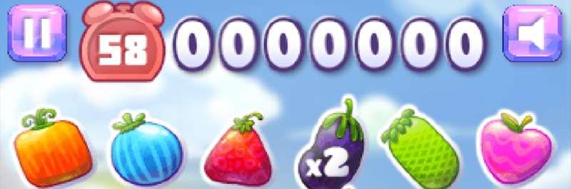 Fruit crazy crush