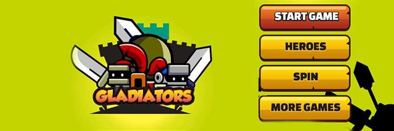 Heroic gladiator