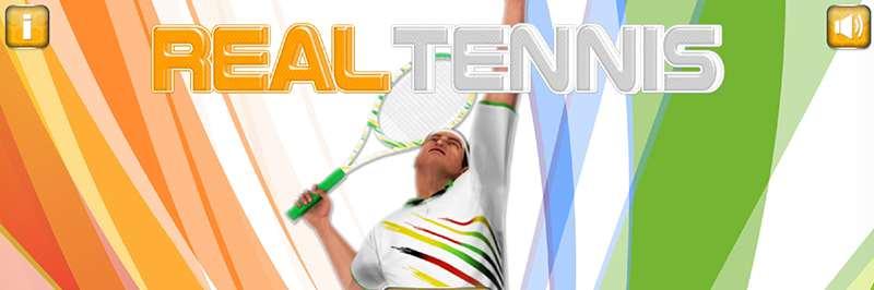 Real tennis match