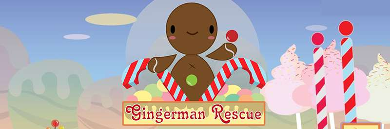 Save the gingerbread man