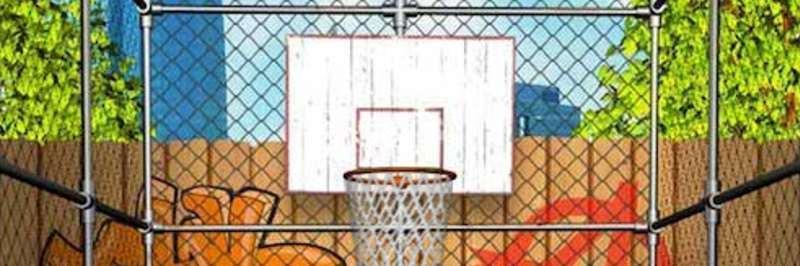 Street outdoor basketball