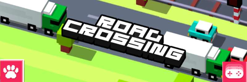 Thrilling across the road
